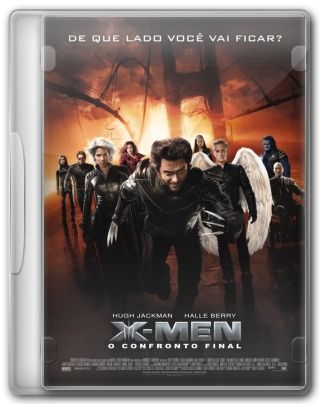 Capa do Filme X Men 3 O Confronto Final