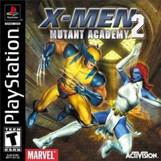 Capa Jogo X-Men Mutant Academy 2 PS1