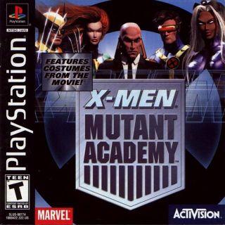 Capa Jogo X-Men Mutant Academy PS1