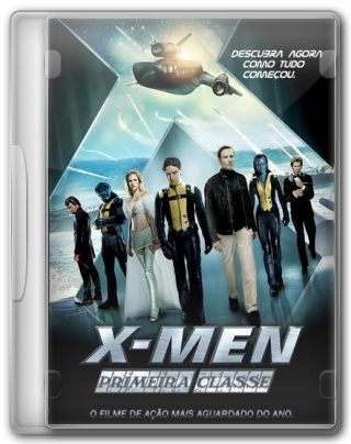 Capa do Filme X-Men Primeira Classe