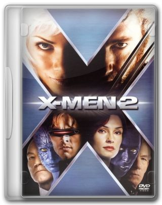 Capa do Filme X-Men 2
