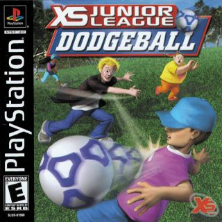 Capa Jogo XS Junior League Dodgeball PS1