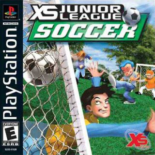 Capa Jogo XS Junior League Soccer PS1