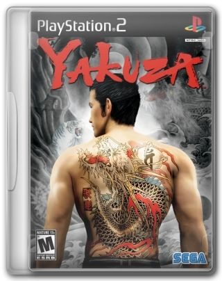 Capa Jogo Yakuza PS2