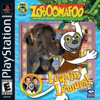 Capa Jogo Zoboomafoo Leapin' Lemurs PS1