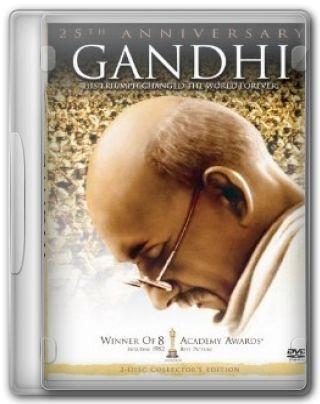 Capa do Filme Gandhi